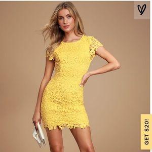 Lulus Body Con Dress